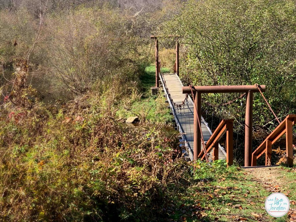 A bridge symbolic of how we can move from weariness into being refreshed